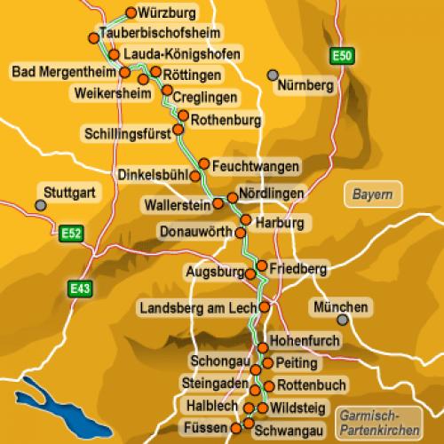 """Halblech Germany  city photos : Ta """"Den romantiska vägen"""" genom Syd Tyskland HostelsClub.com"""