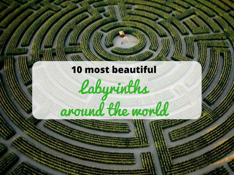 Connu Lose yourself in the world's 10 most beautiful labyrinths  LP44