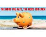 Quanto mais avaliações sairem, mais créditos você ganha!