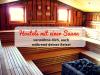 Hostels mit einer Sauna: verwöhne dich, auch während deiner Reise