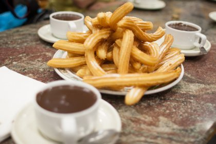Churros in Chocolateria San Gines (big)