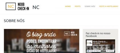 Blog Noob Check-in